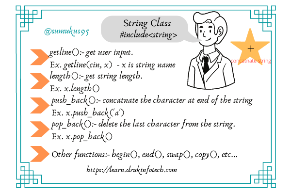 String class functions